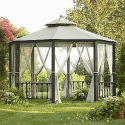 Octagon Gazebo- Simply Outdoors-Outdoor Living-Gazebos, Canopies & Pergolas-Gazebos