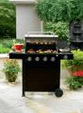 4-Burner Gas Grill with Side Burner- Kenmore-Outdoor Living-Grills & Outdoor Cooking-Gas Grills