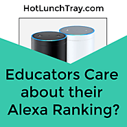 9. Should Educators Care about their Alexa Ranking?   Hot Lunch Tray