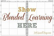 1. Show Blended Learning in a Lesson Plan   Hot Lunch Tray