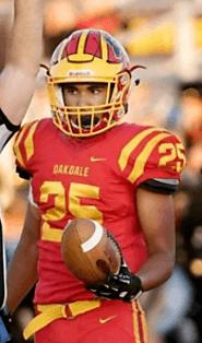 Zeke Saffar (Oakdale) 5-8, 170