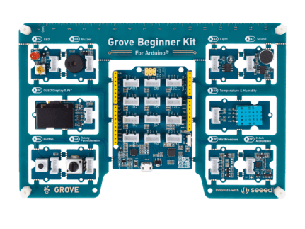 Grove Beginner Kit for Arduino with 10 Sensors and 12 Projects - Free  Shipping - Seeed Studio - Seeed Studio