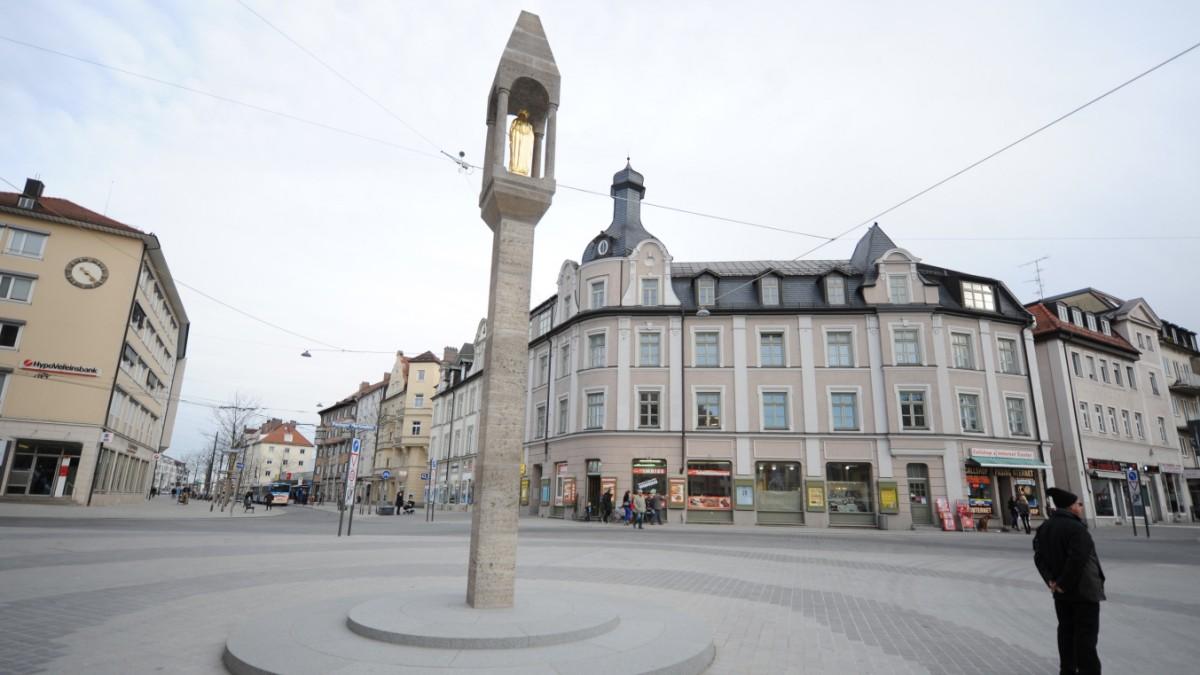 Pasinger Marienplatz  Teuer und trostlos  Mnchen