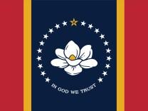US-Geschichte und Sklaverei: US-Bundesstaat Mississippi bekommt neue Flagge