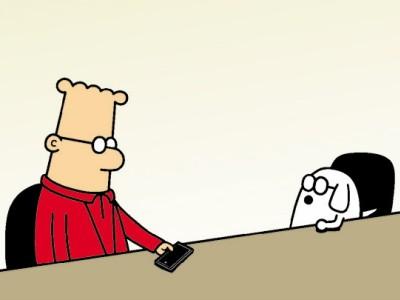 Dilbert, Peanuts und Co.: Sitzen bleiben
