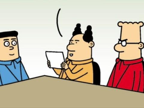 Dilbert, Peanuts und Co.: Das gestohlene Schaubild
