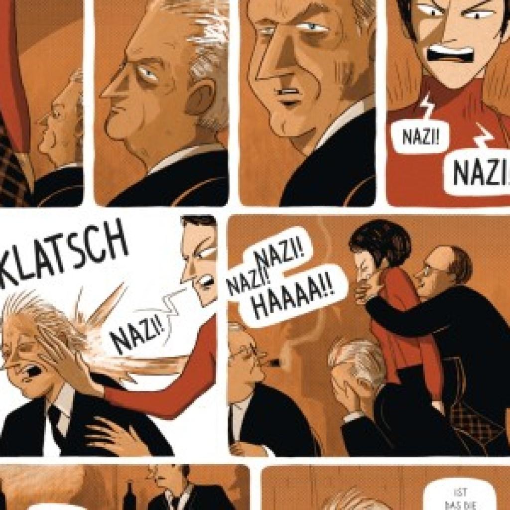 """Graphic Novel: """"Beate und Serge Klarsfeld. Die Nazijäger"""": Der Mantel, den sie zur Ohrfeige trug"""