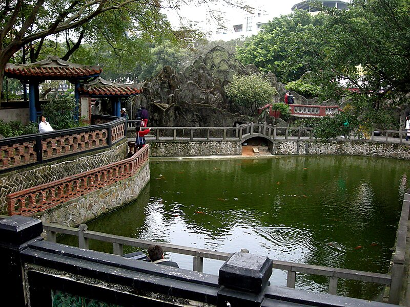 Lin Family Mansion & Garden in New Taipei, Taiwan