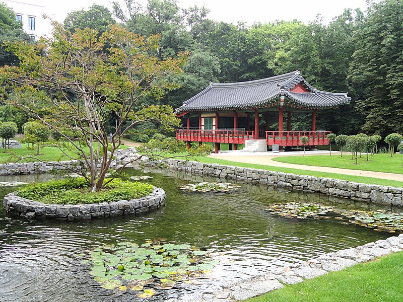 Korean Garden in Frankfurt am Main, Germany