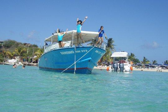 st maarten motorboat cruise