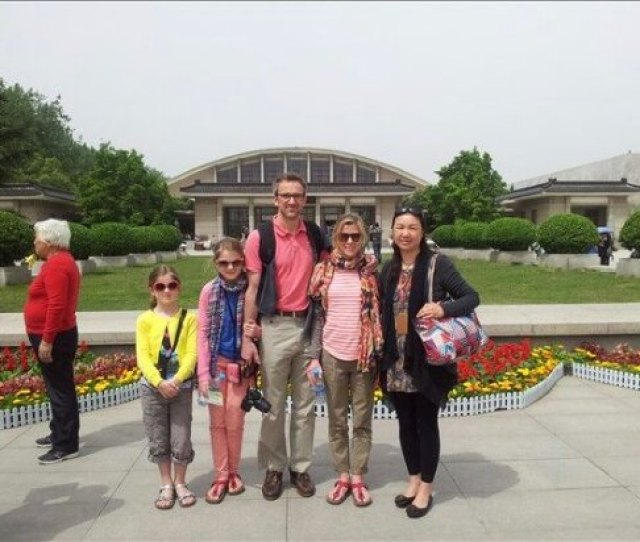 Stefanies Xian Private Tour Xian Private One Day Tour Happy Family