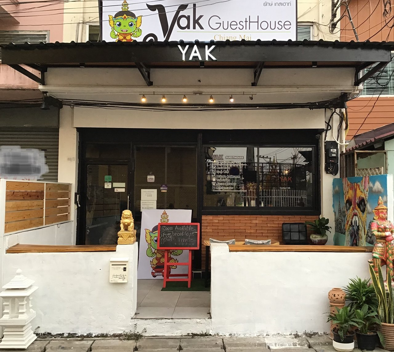 Yak Guesthouse Prices Guest House Reviews Chiang Mai