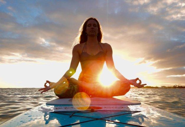 Yoga Mengapung
