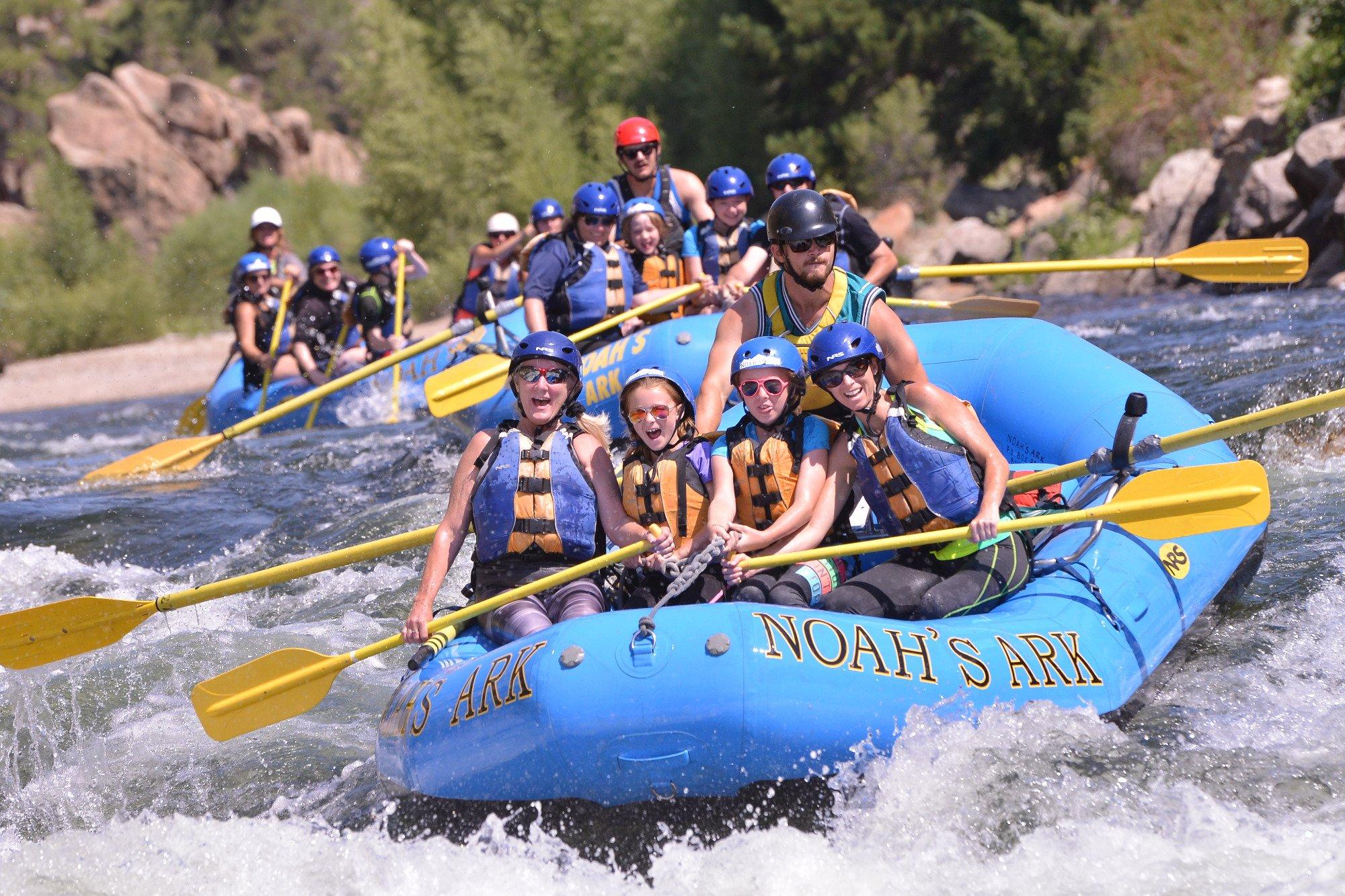 Noah\'s Ark Colorado Rafting & Aerial Adventure Park