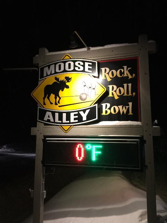 Moose Alley Maine : moose, alley, maine, Moose, Alley, Bowling, Lanes, Picture, Alley,, Rangeley, Tripadvisor
