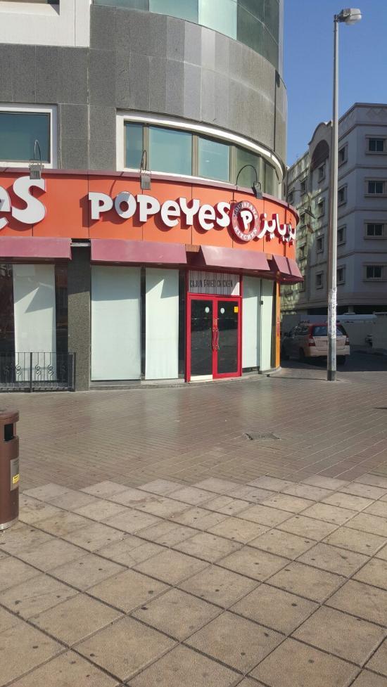 Popeyes Dubai