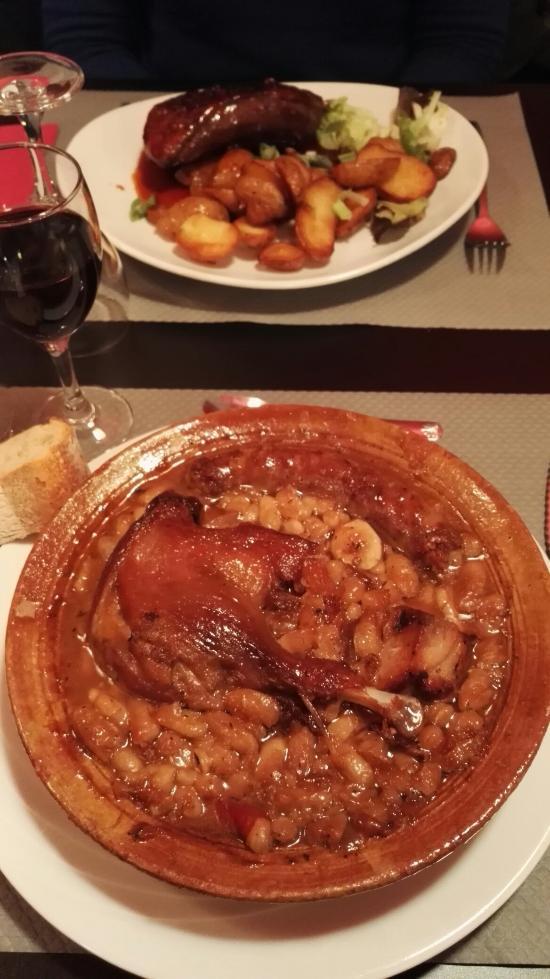 Au Lard Et Au Cochon : cochon, Excellent, Cassoulet, Magret, Picture, Cochon,, Carcassonne, Tripadvisor