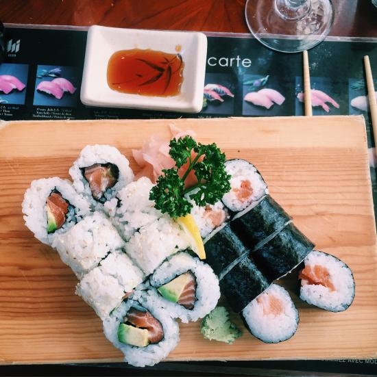 sushi tokyo courbevoie restaurant