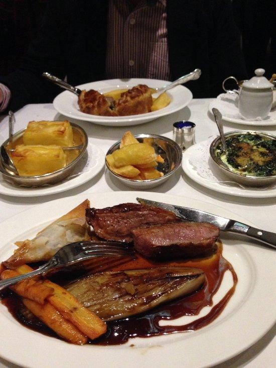 Rules Restaurant Lunch Menu