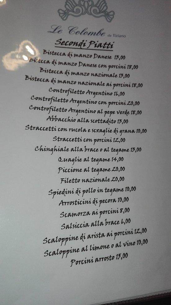 Ristorante Pizzeria Le Colombe da Tiziano Nemi