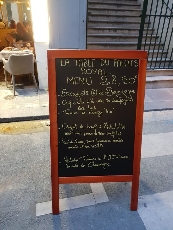 La Table Du Palais Royal : table, palais, royal, Caroll, Sinclair., Digestivo, Picture, Table, Palais, Royal,, Paris, Tripadvisor