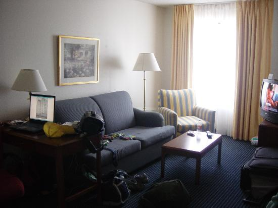 Our messy living room  Picture of Residence Inn San