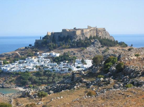 Rhodes, Grécia: Lindos
