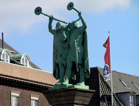 Lur Blower Column Copenhagen Denmark Address Monument