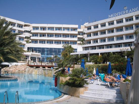 pool area - Picture of Mediterranean Beach Hotel, Limassol ...