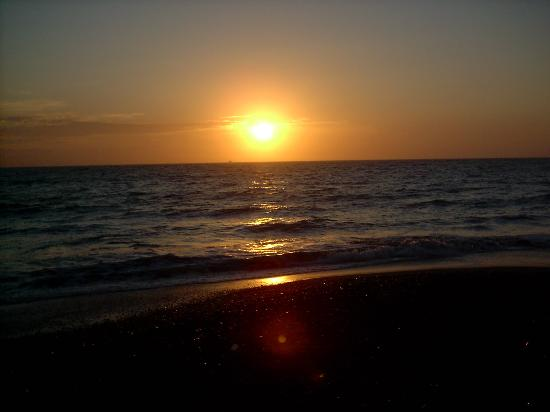 Image result for sunset on the beach