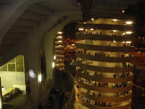 Tower walkways  Picture of Stadio Giuseppe Meazza San Siro Milan  TripAdvisor