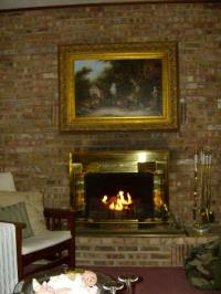 GAS FIREPLACE BED  Fireplaces