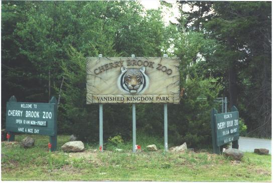 Foto de Cherry Brook Zoo Inc., Saint John: The front