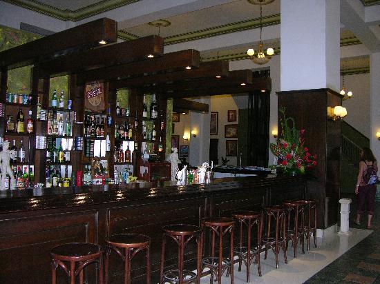 vista del bar del hotel Ambos Mundos, La Habana, Cuba