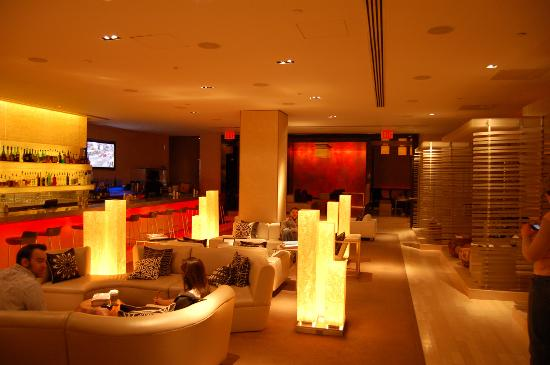 Lobby Living Room Bar Picture Of W New York Times Square