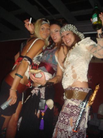 Fiesta de disfraces de Halloween