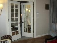 mirrored french doors to bedroom - Picture of The London ...