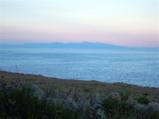 isola di Fan Greciavista dalla Puglia  Foto di Santa Cesarea Terme Provincia di Lecce