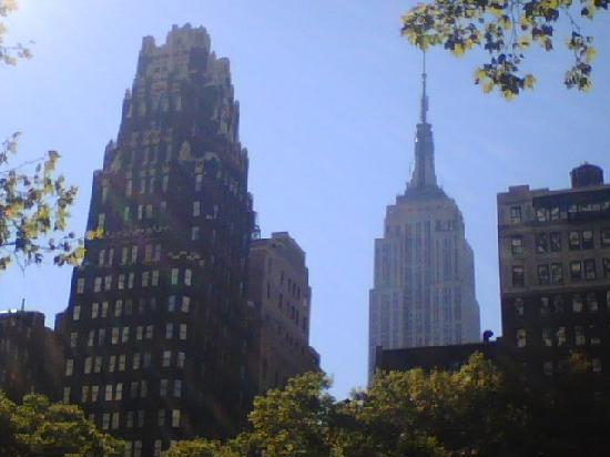 Next To Empire State Building Picture Of The Bryant Park