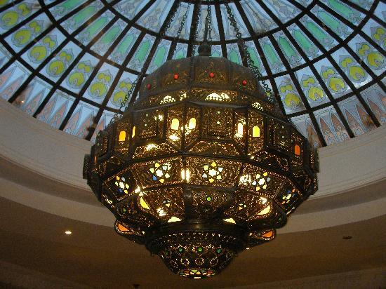 Oriental Rivoli Hotel Spa Chandelier