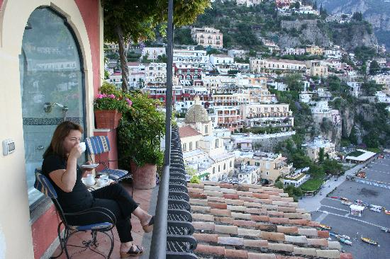 Balcony View Room 209 Picture Of Hotel Miramare Positano
