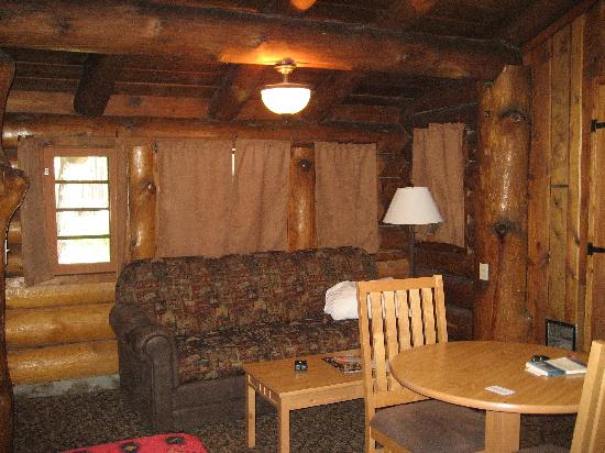 sofa sleeper for cabin 4 seater recliner uk area of a c felt great picture blue bell lodge