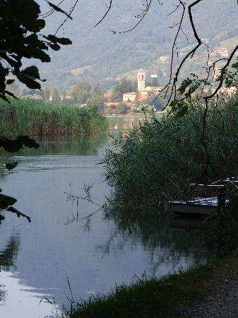 Monasterolo Viewed From Lake Endine Picture Of Bed