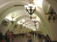 High vaulted ceilings and chandeliers - Picture of Moscow ...