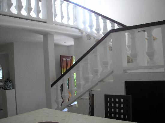 Stairs inside house