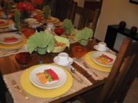 Breakfast table setting - Picture of Casa de Las ...