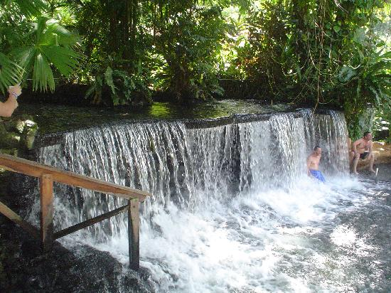 Costa Rica: This is glory! The hot springs at Tabacon Spa