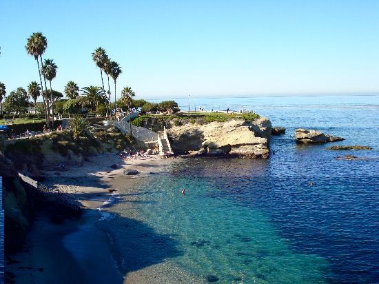 Bilder fra La Jolla Cove, La Jolla