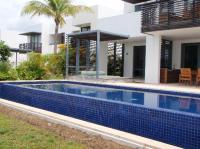 The villa with the massive long lap pool approx 15 metres ...
