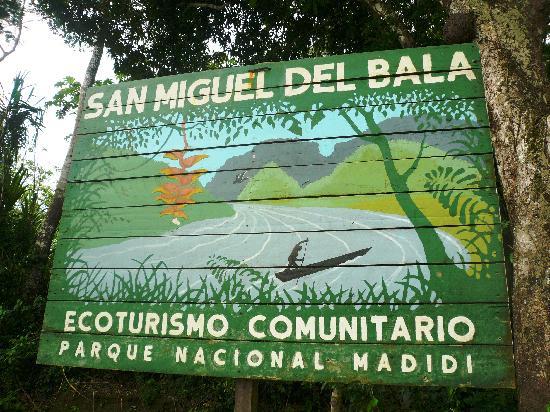 Madidi National Park, San Miguel del Bala